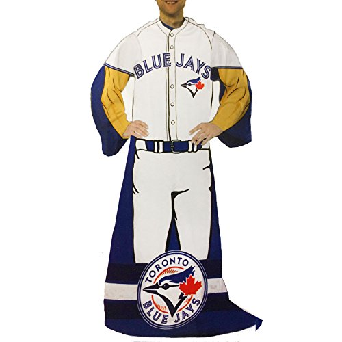 The Northwest Company Toronto Blue Jays Player Uniform Comfy Throw -