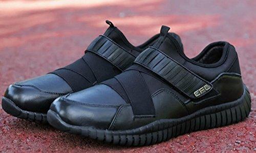 Voyagé De Scratch Mulitsport Course Loisir Slip Noir Homme Sneakers HIED92