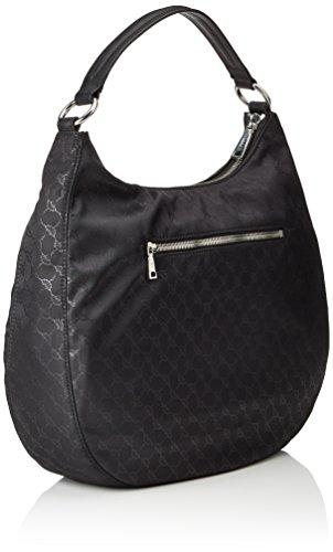 Joop! Nylon Cornflower Aja Hobo Lhz - bolsa de medio lado Mujer negro (900)