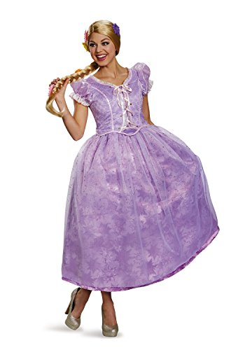 Disney Women's Tangled Rapunzel Ultra Prestige Costume, Purple,