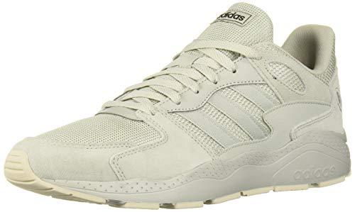 adidas Men's Chaos Sneaker, ash Silver/raw White, 8 M US (Mens Sneakers Silver)