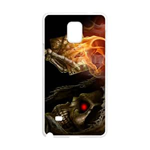 Samsung galaxy note 4 N9100 Skeleton Phone Back Case Art Print Design Hard Shell Protection TY063436