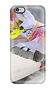 KQGlSFp1467aWYRR Faddish Ski Sports Competition Case Cover For Iphone 6 Plus