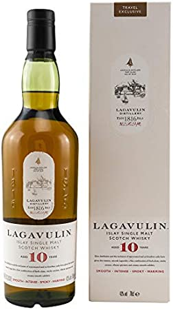 Lagavulin Lagavulin 10 Years Old Single Malt Whisky 43% Vol. 0,7l in Giftbox - 700 ml