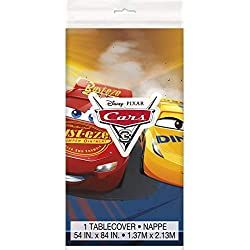 Disney Cars III Plastic Table Cover