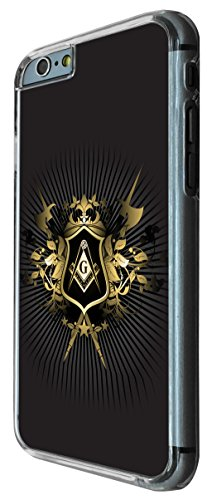 iphone 6 4.7'' Freemasons logo Fun Cool 175 Design Fashion Trend Hülle Case Back Cover Metall und Kunststoff