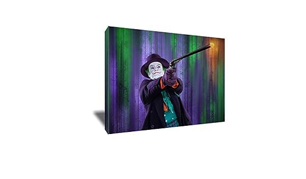 Amazon.com: Jack Nicholson The Best Joker Canvas Painting ...