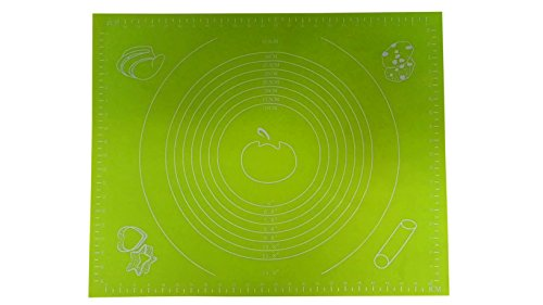 Victor International Vmatte Silikon Backmatte, Ausrollmatte, 50 x 40 cm, Farblich sortiert- Auswahl nicht möglich