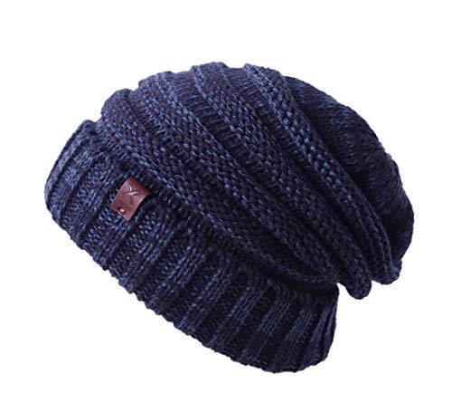 Cable Knit Beanie - Thick, Soft & Warm Chunky Beanie Hats for Women & Men - Serious Beanies (Hemp Grey1) (Hemp Womens Hat)