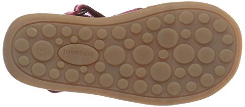 Bisgaard Sandalen 71208114 - Sandalias de cuero para unisex-niño, color amarillo, talla 20 Pink (4001 Pink)
