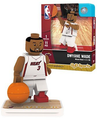 OYO Sports NBA Minifigure Miami Heat Dwyane Wade by Oyo Sportstoys