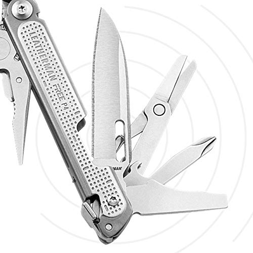 LEATHERMAN - FREE P4 Multitool with Magnetic Locking, One Hand Accessible Tools and Premium Nylon Sheath by LEATHERMAN (Image #4)