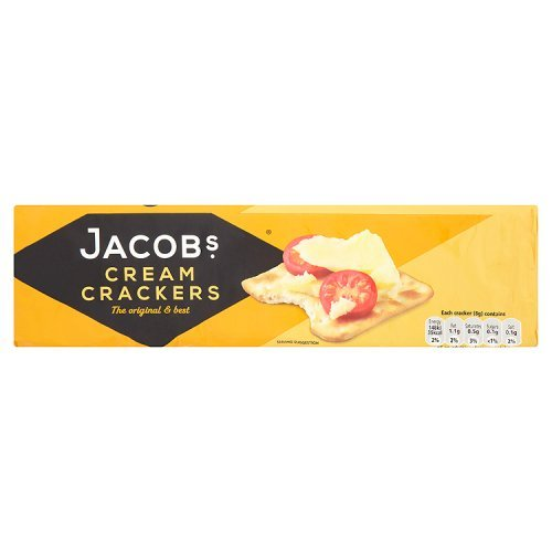 Price comparison product image Jacobs Cream Crackers 200g -Fast