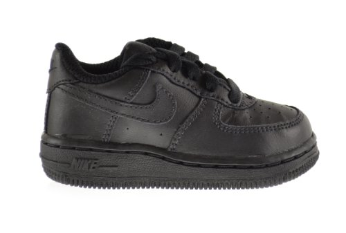 Nike Force 1 (TD) Baby Toddlers Shoes Black/Black 314194-009 (4 M ()