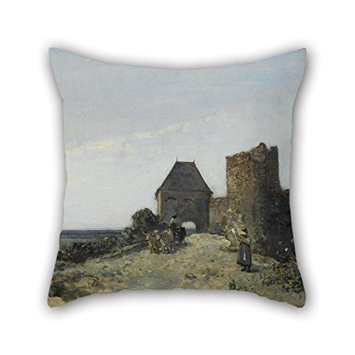 Oil Painting Johan Barthold Jongkind - Ruins Of