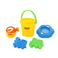 Polesie Polesie4832 162 Size Sieve Small Watering Can No. 4 Forms (Truckwithlocomotive) -Sets: Flower Pail, Big, Multi Colour