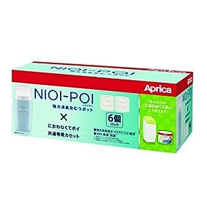 Aprica (アップリカ) 強力消臭紙おむつ処理ポット ニオイポイ NIOI-POI