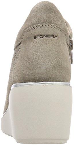 Stonefly Women's Eclipse 6 BIS Velour Platform Heels Brown (Taupe Brown 075) pVse6