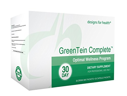 photo Wallpaper of designs for health-Designs For Health   GreenTein Complete Optimal Wellness Program, 30 Servings-
