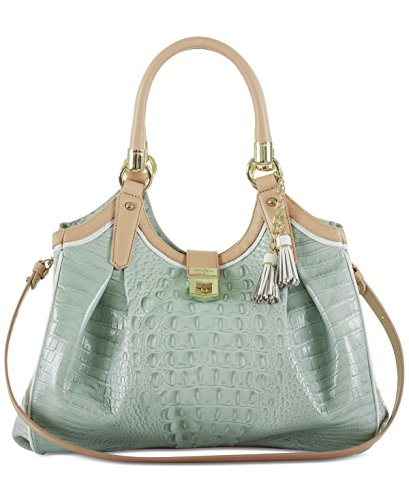 Brahmin Elisa Top Handle Seaglass Bag XH6HxrB