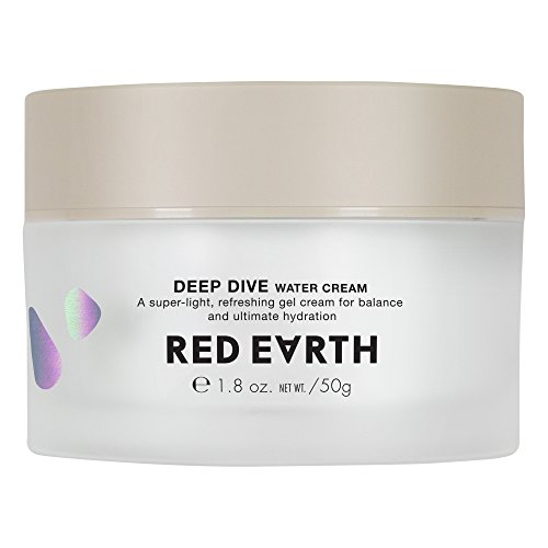 (Red Earth DEEP DIVE Water Gel Cream For Face - Plumping And Hydrating Moisturizing Cream - Gel Type Sleep Mask And Face Cream For Dry Skin)
