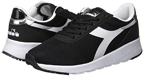 Diadora Run Dd Nero Wn Donna Evo nero 80013 Sneaker rSB5rq