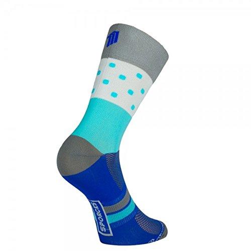 Sporcks Cycling Socks Champs. Ultra Light Single Fibre. Light, Breathable, Comfortable Bike Socks. (Large 44-46)
