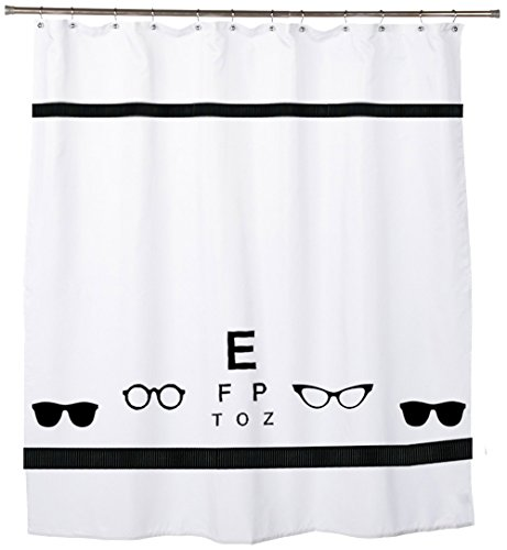 Optometrist Eyeglasses Sunglasses Eye Shower Curtain - In Your Choice of Colors - Custom Made Bath - Sunglasses Optometrist