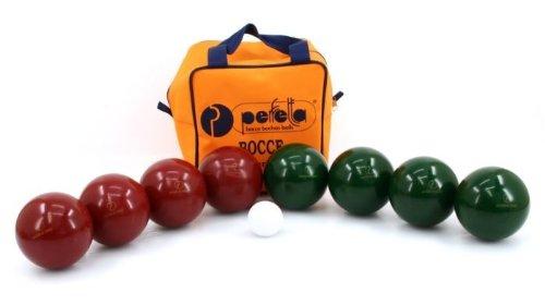 Professionelles Perfetta Hobby Boccia Set mit 100mm Kugeln in praktischer Tasche