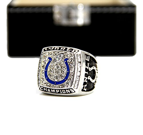 Indiana' Colts Championship Rings By Years and Display Box Set (2006, 11)