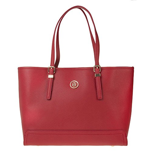 Tommy Hilfiger Honey Tote Womens Handbag Red