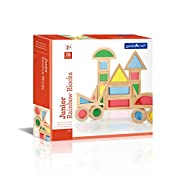 Guidecraft Jr. Rainbow Block 20 Piece Set
