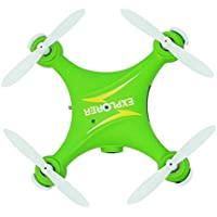 Owill GW009C Mini 2.4G 6 Axis RC Quadcopter Aircraft With HD Camea/Great Gift For Beginners (Green)