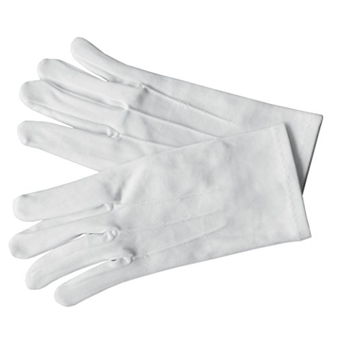 Nylon Gloves (White) -