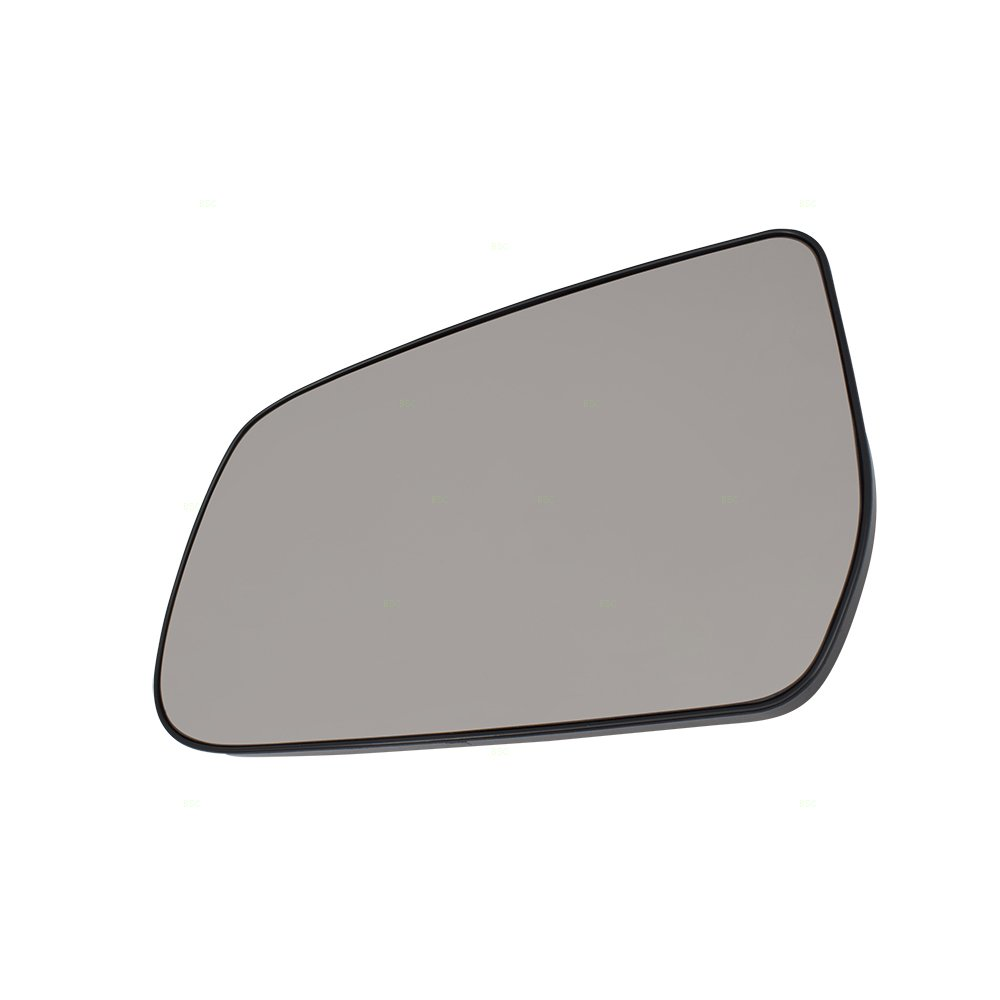 Drivers Side View Mirror Glass /& Base Replacement for 10-17 Chevrolet Equinox GMC Terrain 22906957