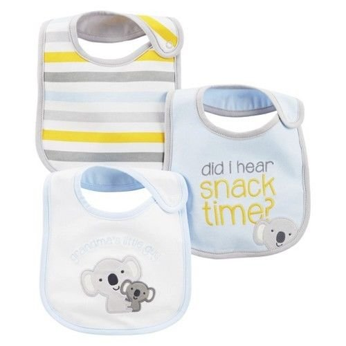 Carters Just One You 3-pack of Teething Bibs