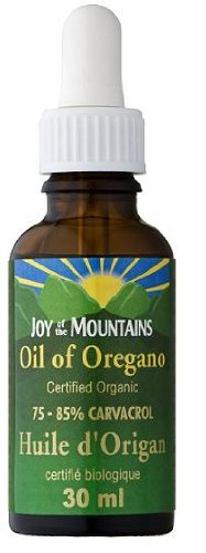 Cheap Oregano Oil CERTIFIED ORGANIC- Joy of the Mountain – 75% Carvacrol (30mL) Brand: Joy of the Mountain