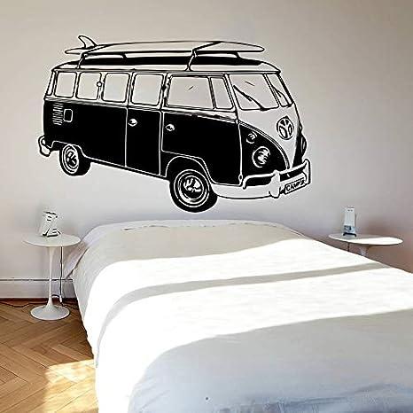 mlpnko Surf Camper Fan Etiqueta de la Pared Dormitorio ATV ...