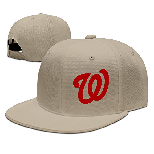 MaNeg Washington Nationals Unisex Fashion Cool Adjustable Snapback Baseball Cap Hat One Size - Texas Store Prada