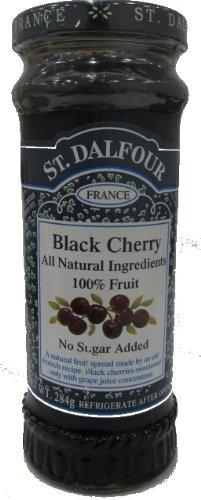 284gX6 this San Darufo All fruit spread Black Cherry by St Dalfour (San Darufo) (Image #1)