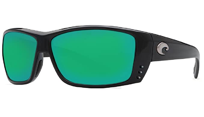 0f535875a51 Image Unavailable. Image not available for. Color  Costa Del Mar Cat Cay  580G Black Green Mirror Polarized Lens 60mm Sunglasses