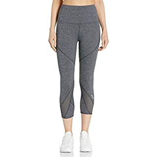Lorna Jane Womens Enhanced Core 7/8 Tight, Charcoal Marl, XX-Small