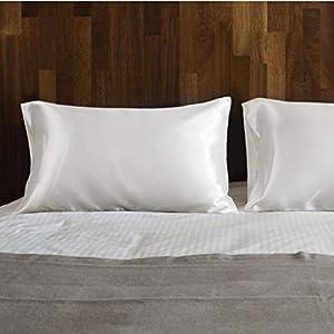 Bedsure Pillowcase Set Satin P...