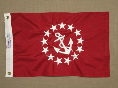 Vice Commodore Flag 12X18 Review