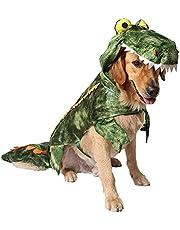 Kodervo Alligator Dog Costume - Funny Dog Costume, Halloween Dog Crocodile Costume for Small Medium Large Dogs, Funny Cosplay Dress - Dress Your Dogs Like a Croc