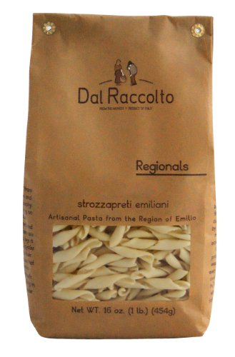 Dal Raccolto Strozzapreti Pasta, 1.0 Pound