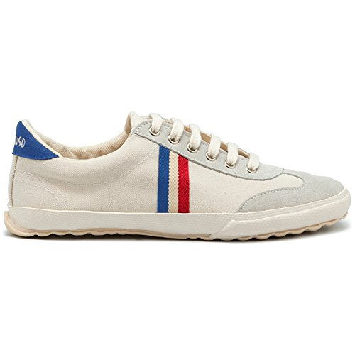 El Ganso M Match Ante/Canvas Ribbon, Schuhe Herren. Sneaker Waking (Canvas) White Off