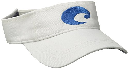 Cotton Visor - Costa Del Mar Cotton Visor, White