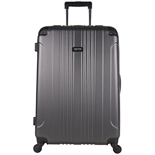 Kenneth Cole Reaction Out Of Bounds 28-Inch Check-Size Lightweight Durable Hardshell 4-Wheel Spinner Upright ()