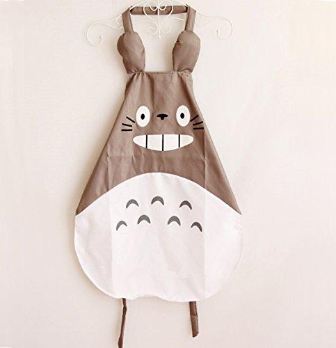Totoro Dress Costume (Hyzrz Miyazaki Totoro Gray Apron)